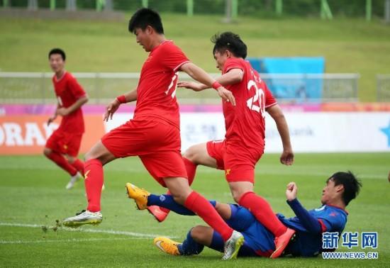 大运会-中国男足胜中华台北队