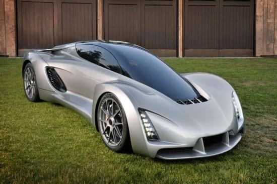 全球首辆3D打印超级跑车诞生