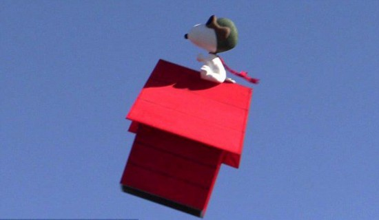 美圣迭戈动漫展惊现Snoopy飞行器【2】