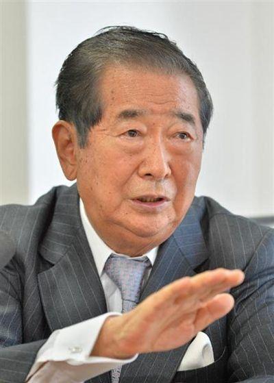 石原慎太郎私宅频遭骚扰嫌犯自称系其粉丝(图)