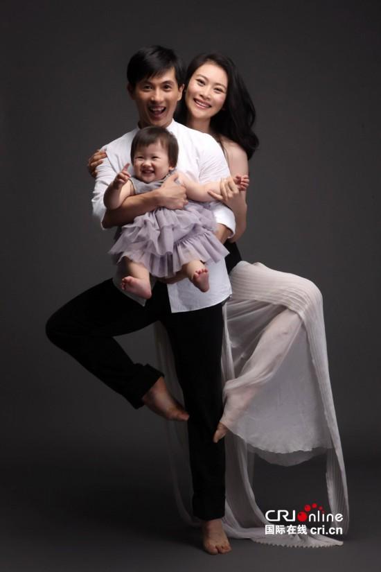 舞蹈家黄豆豆女儿四周岁 网友称其若出道秒杀王诗龄