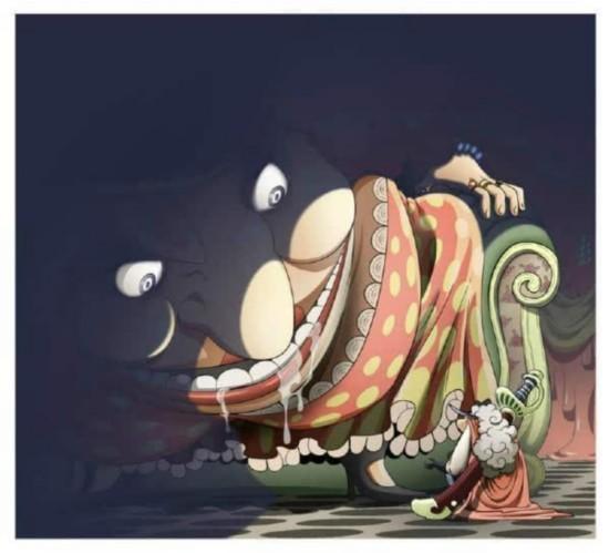 《海贼王》漫画794话7月20日v漫画:青雉加入黑漫画发型图片