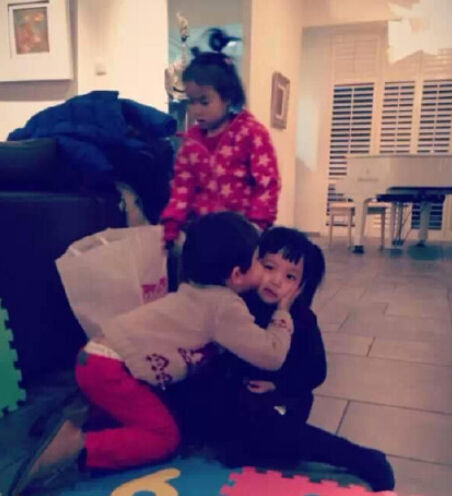 刘烨儿子和赵薇女儿