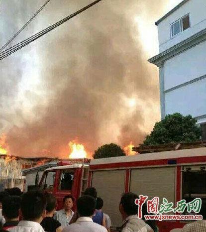 火灾事故现场图片来自网络