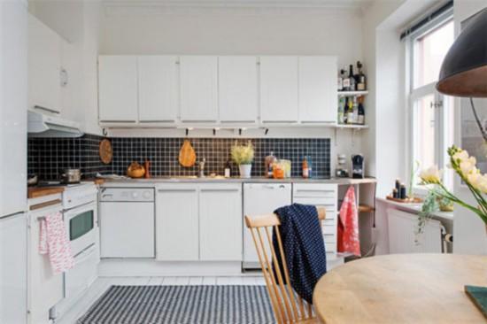 装修最清爽干净的北欧风格厨房