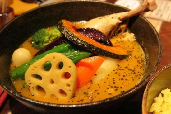日本 北海道/日本旅游·北海道旅游美食:汤咖喱