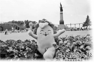 消息:首届全国青运会网络火炬传递已经来到哈尔滨
