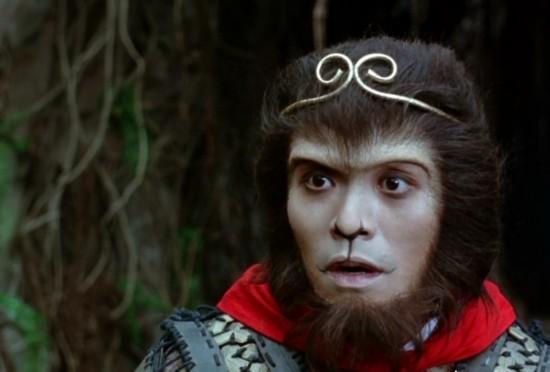 周星馳在《大話西游》中扮演的孫悟空圖片
