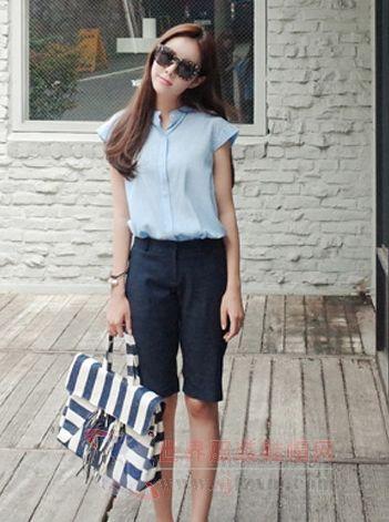 衬衫气质搭配图片 唯美造型时尚来袭
