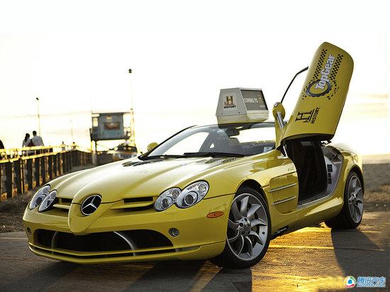 no.10奔驰slr mclaren,当时报价:65万.   2010年9月9日,一高清图片