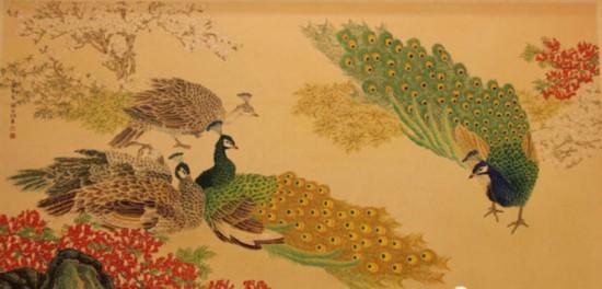 人民大会堂金色大厅画作更新了!一起来看看大会堂悬挂过的13幅珍贵书画-爱财经网