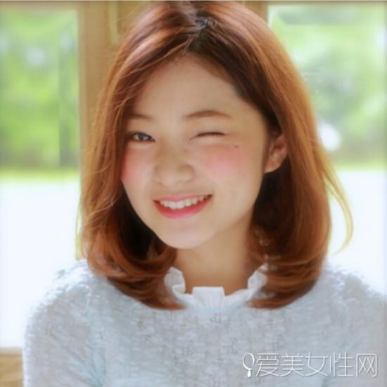 韩系气质齐肩披肩发 塑造气质美女图片