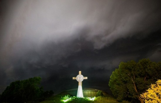 美摄影师捕捉风暴中绝美闪电照片【15】