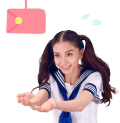Baby推出1微信表情校服照片太美表情包穿真人a表情逗比图片