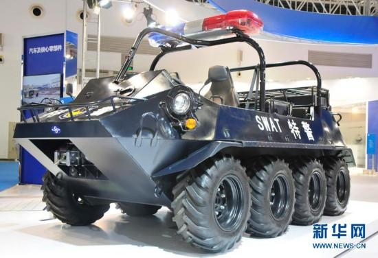 8X8轻型全地形车-国产特种车 智能反恐制暴车图片