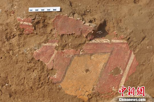 石峁遗址现神秘绿色颜料4000年前壁画技法或确立