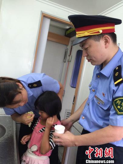 2名江西小女孩因琐事被奶奶责骂坐火车离家出走