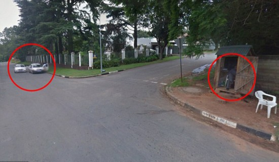 南非巡警遭持枪暴徒威胁 附近搭档竟毫不知情