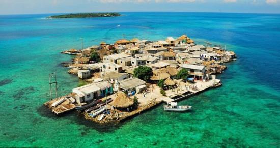 世界上最拥挤的岛 面积0.012平方公里住1200人