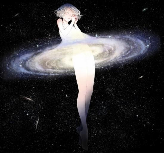 关于宇宙的浪漫幻想:银河系是仙女的纱裙摆?