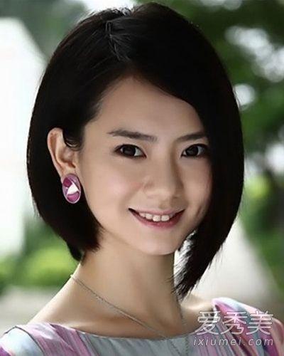 戚薇长发及腰 女神还是短发更酷更美