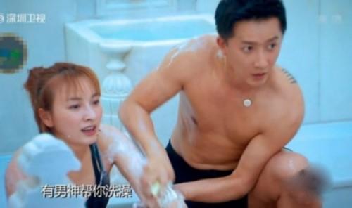 """《极速前进2》韩庚吴昕""""搓澡""""引爆笑"""