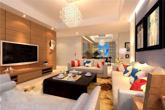 二居室小户型装修图 一品嘉园87平米装修案例分析