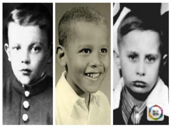 看看外国政要们的童年照,你能认出几个?