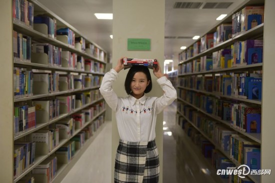 """高大上!陕西高校""""最高端图书馆""""亮瞎眼"""