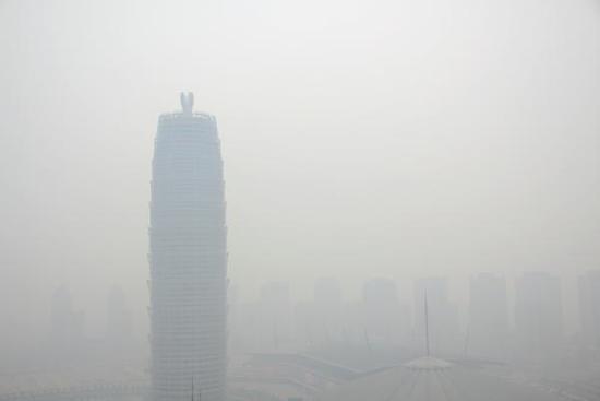 郑州市长被环保部约谈 空气质量连续排名倒数
