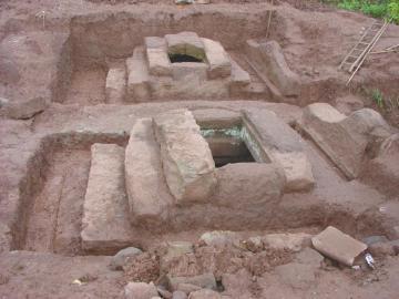 被盗的宋代古墓。