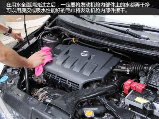 汽车手工课 发动机舱怎么洗最靠谱?