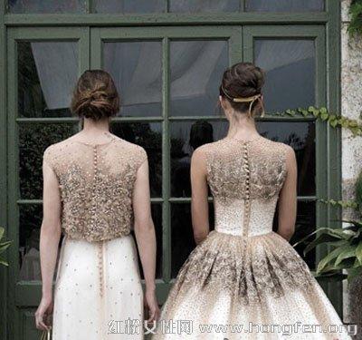 优雅闺蜜新娘发型设计 简单时尚发型做最美新娘