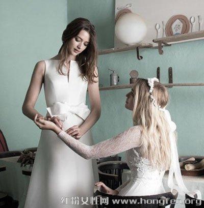 优雅闺蜜新娘发型设计 简单时尚发型做最美新娘图片