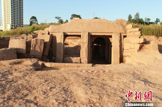 重庆发现宋代双室墓规模结构复杂性属罕见(图)