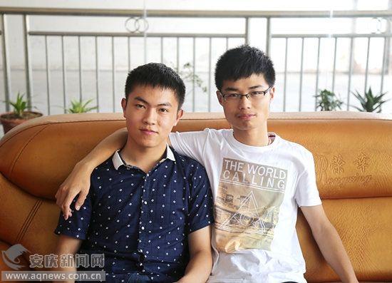 """[岳西天气]岳西现最牛""""发小"""" 两人同时被清华大学录取"""