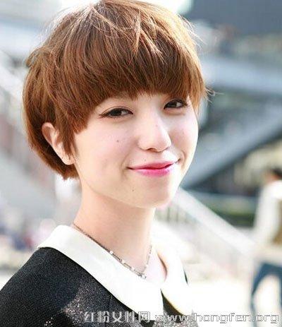 短发型女有气质的发型图片_女气质短发发型图片