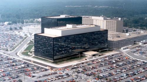 材料图:NSA总部大楼。