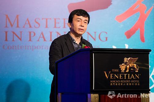 第四届墨彩情趣--中国当代水彩画情致澳门开vr+机器人名家图片