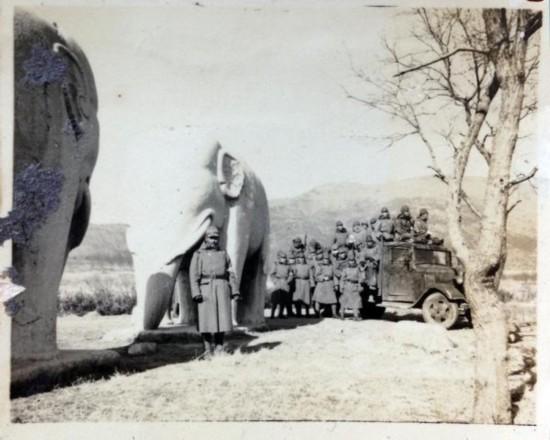 日本士兵1937年摄影再现日军侵华战争过程