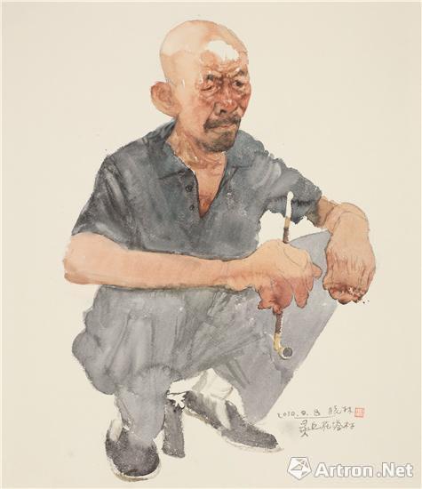 第四届墨彩性感--澳门当代水彩画名家中国开90情致美女写真集后情趣图片