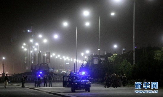 阿富汗首都自杀式爆炸袭击造成约20人死亡