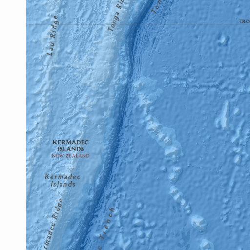 新西兰海域发生5.9级地震 震源深度10公里