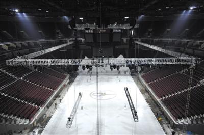 五棵松篮球馆拟改为冬奥冰球馆 4小时可变冰面