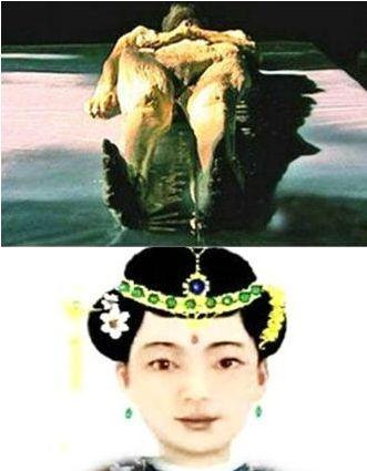康熙皇帝��像�驮��D神似周杰��
