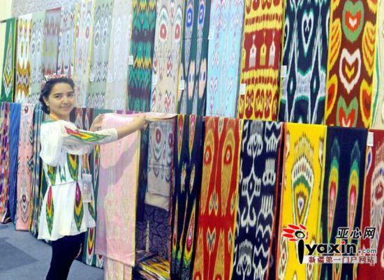 2015亚欧商品贸易博览会纺织服装产业馆大放