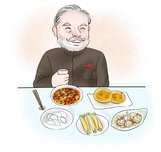西安漫画微博致谢印度美术家漫画记录莫迪西狼总理人图片