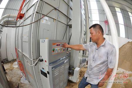 罗城谷物烘干机一天可烘干粮食近30吨