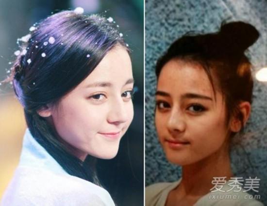 蒋欣郑爽阿娇刘亦菲 18位女星素颜毫无压力