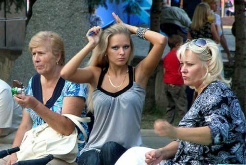 乌克兰盛产美女 首都基辅成全球之首的美女之都